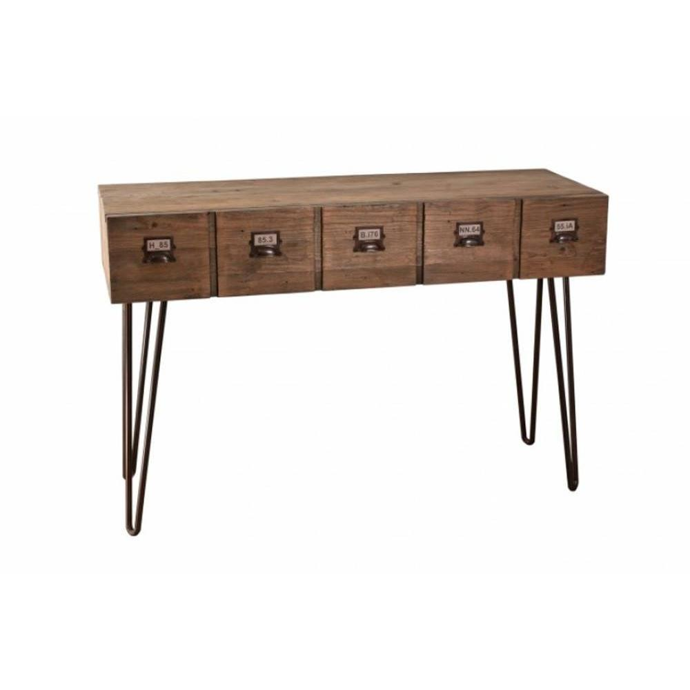 Consoles tables et chaises console design moderne laura en mindi style colo - Console style colonial ...