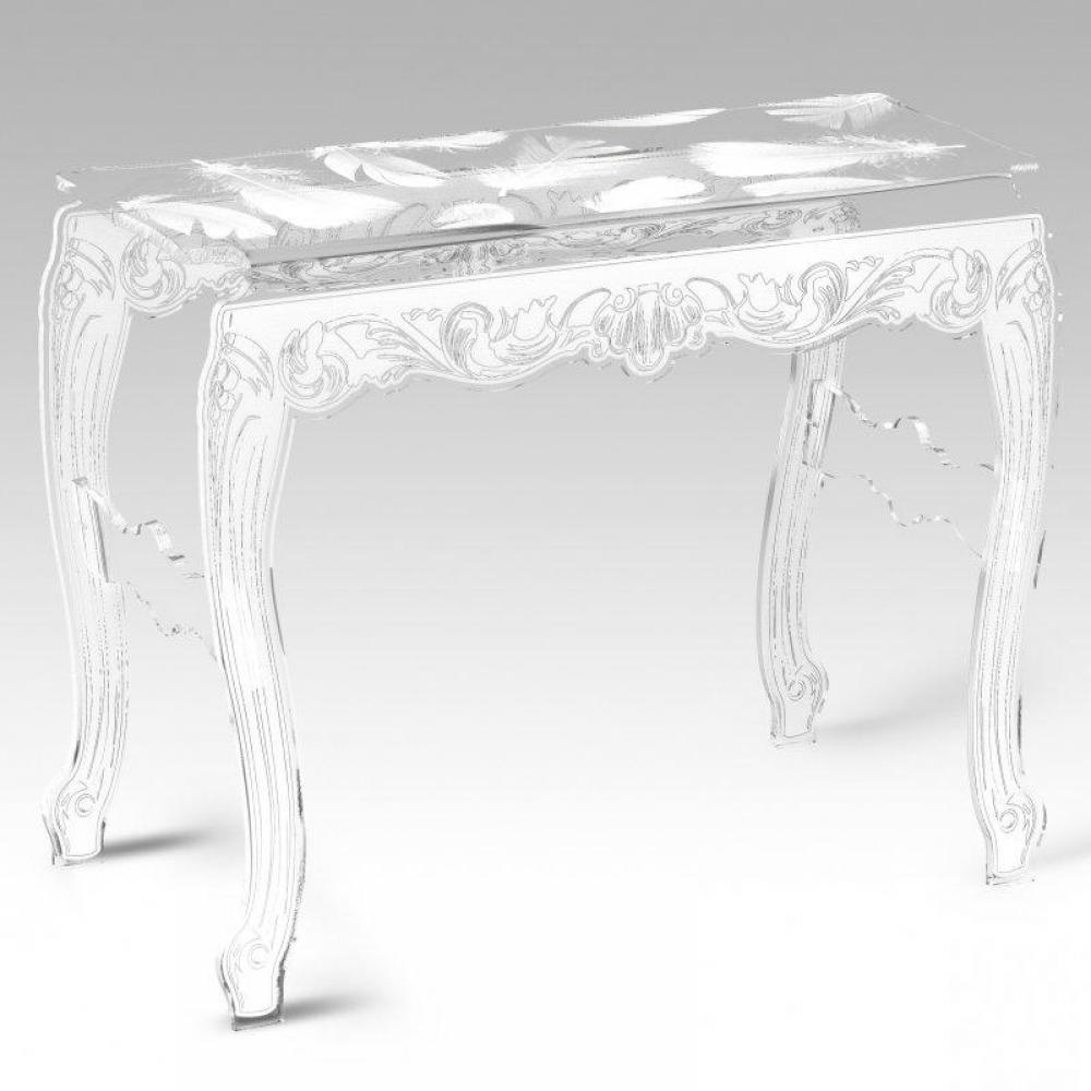 Plexiglass console table plexiglas console table sur enperdresonlapin - Console en plexiglas ...