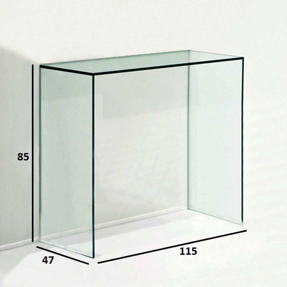 consoles extensibles tables et chaises console design proteo en verre inside75. Black Bedroom Furniture Sets. Home Design Ideas