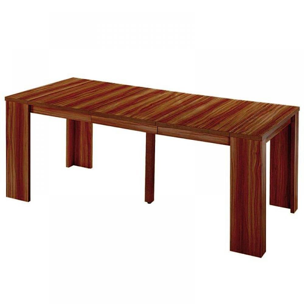 Buffets meubles et rangements console extensible en table repas elasto noyer - Buffet table extensible ...