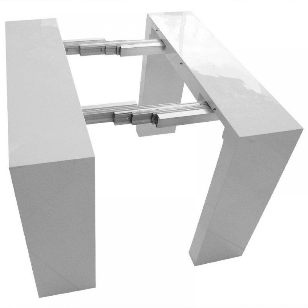 Consoles extensibles tables et chaises console for Fabriquer table extensible