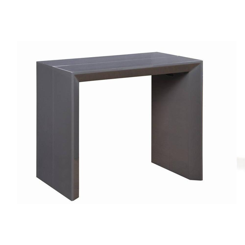 consoles extensibles tables et chaises console extensible en table repas extenso deluxe gris. Black Bedroom Furniture Sets. Home Design Ideas