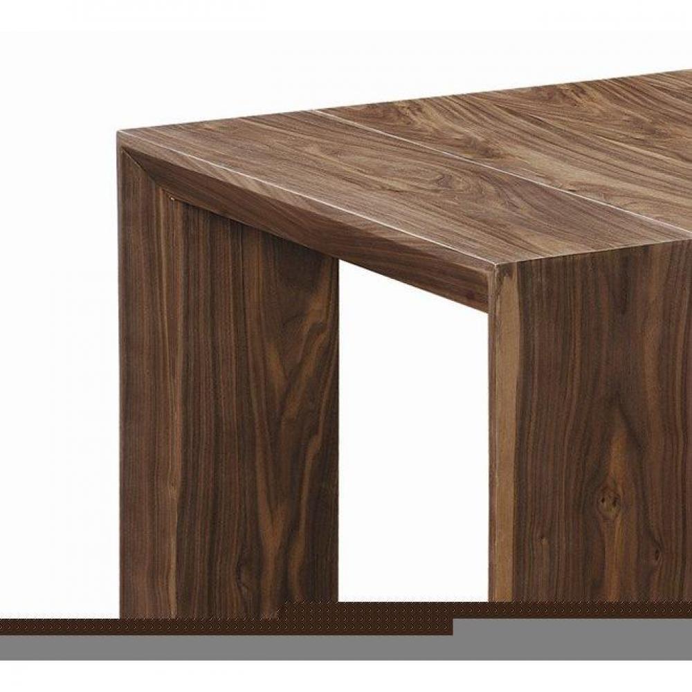Console extensible en table repas EXTENSO DELUXE bois noyer, 12  ~ Table Console Extensible Bois