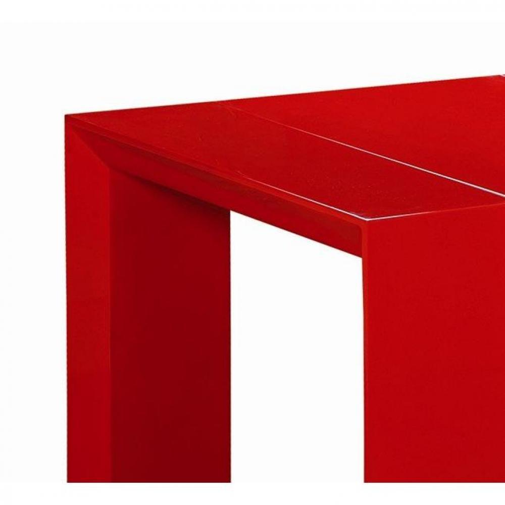 Consoles Extensibles Tables Et Chaises Console Extensible En Table Repas Extenso Deluxe Rouge