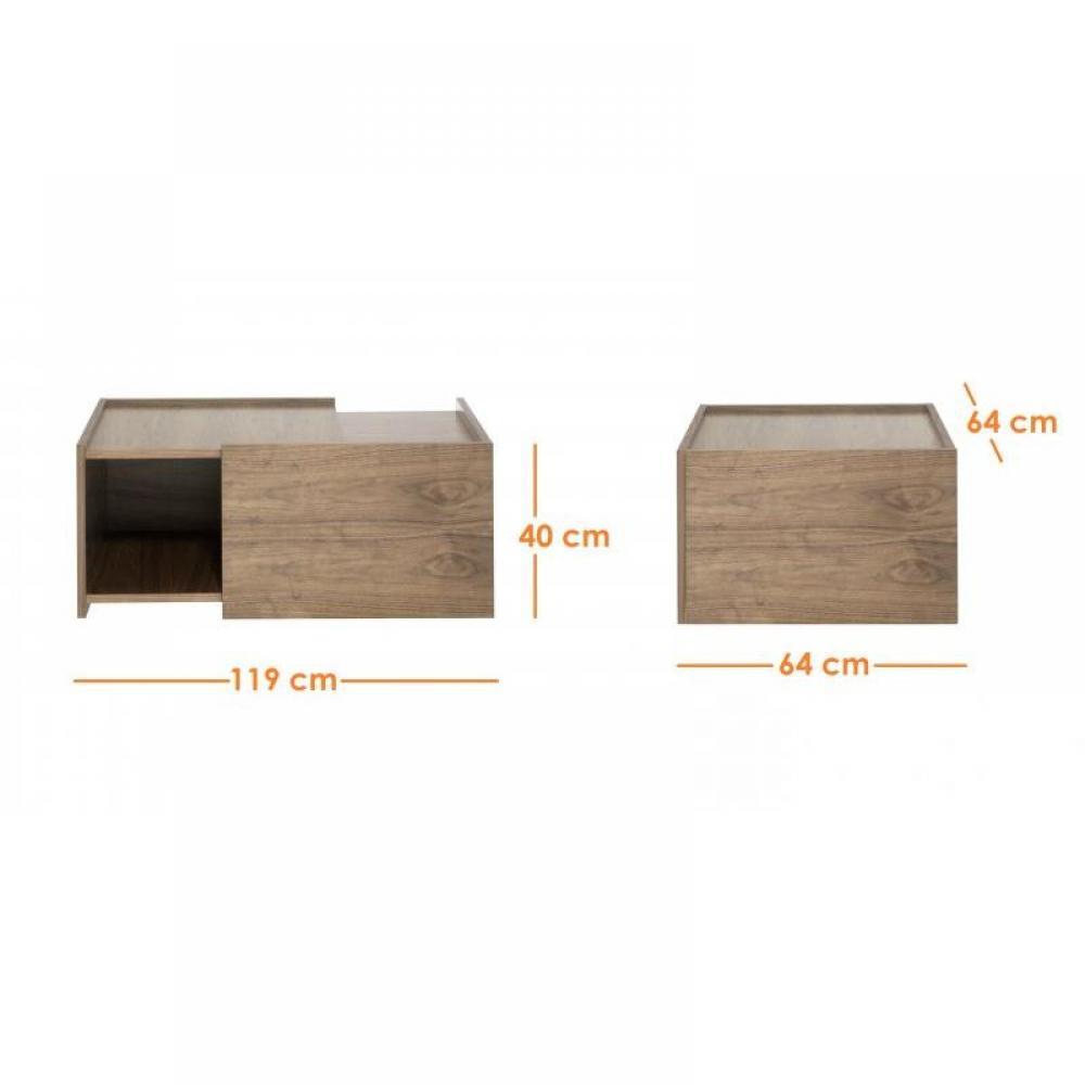Tables basses meubles et rangements cube coffe table for Table basse cube bois