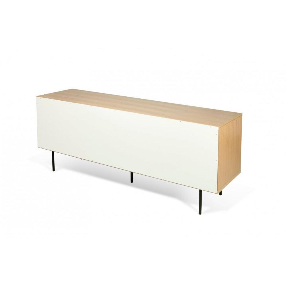 buffets meubles et rangements temahome dann buffet design ch ne avec portes blanche pi tement. Black Bedroom Furniture Sets. Home Design Ideas