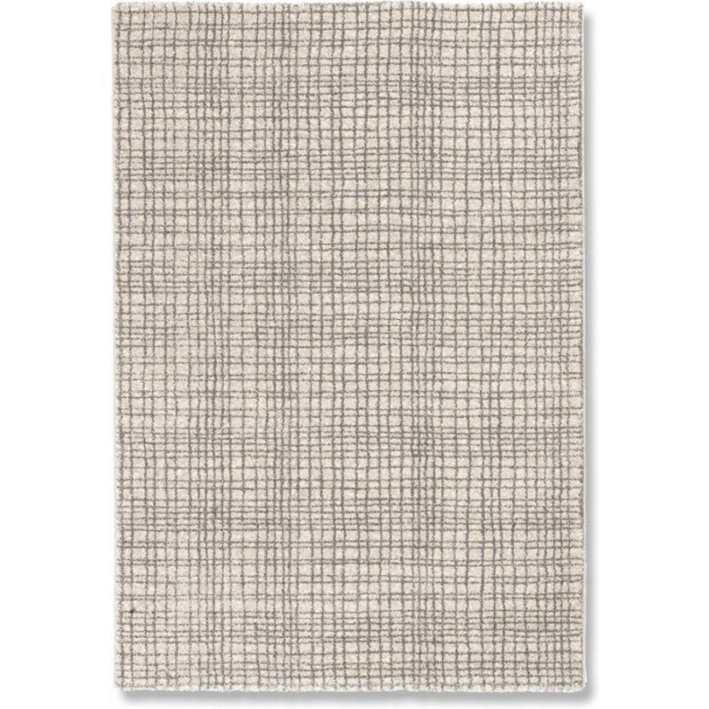 tapis de sol meubles et rangements davinci tapis quadrill beige 160x230 cm inside75. Black Bedroom Furniture Sets. Home Design Ideas