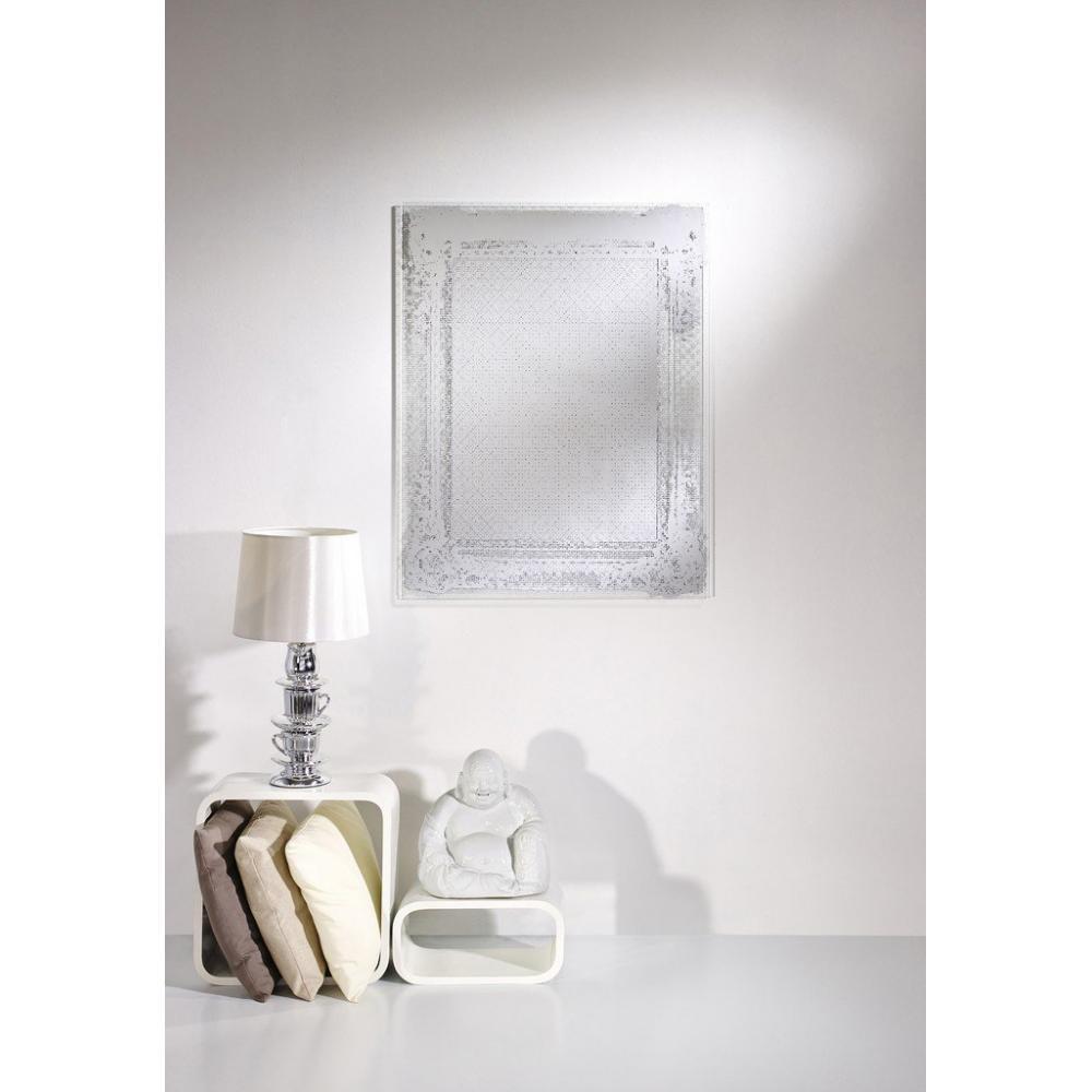 Grands miroirs meubles et rangements dentelle miroir for Meuble mural en verre