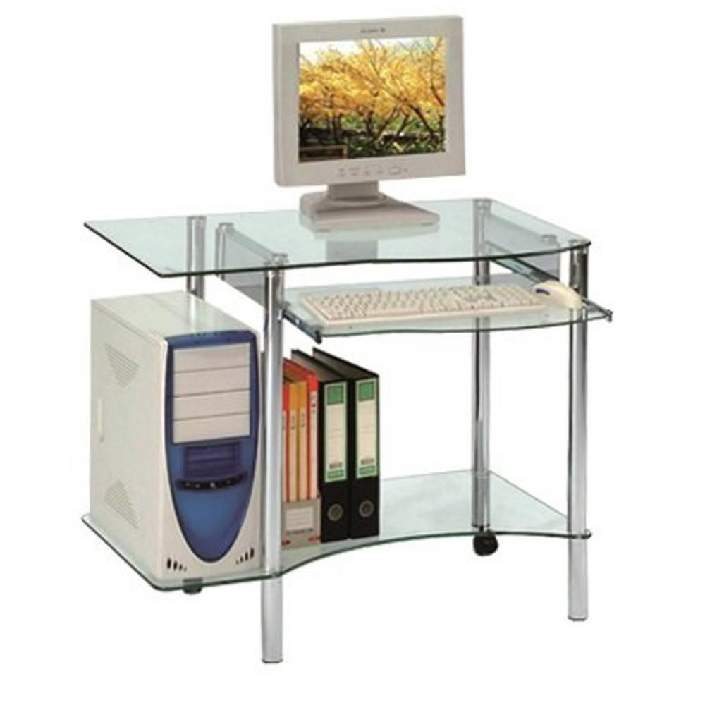 Table verre ordinateur - Table de ventilation pour pc portable ...