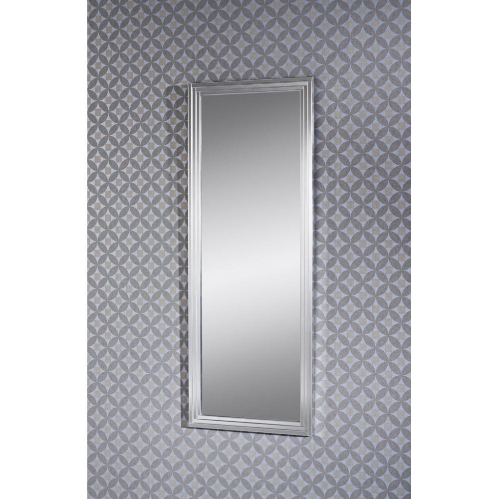 miroirs meubles et rangements doors miroir mural en verre design mod le grande taille argent. Black Bedroom Furniture Sets. Home Design Ideas