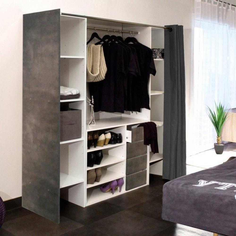 dressings et armoires chambre literie dressing. Black Bedroom Furniture Sets. Home Design Ideas