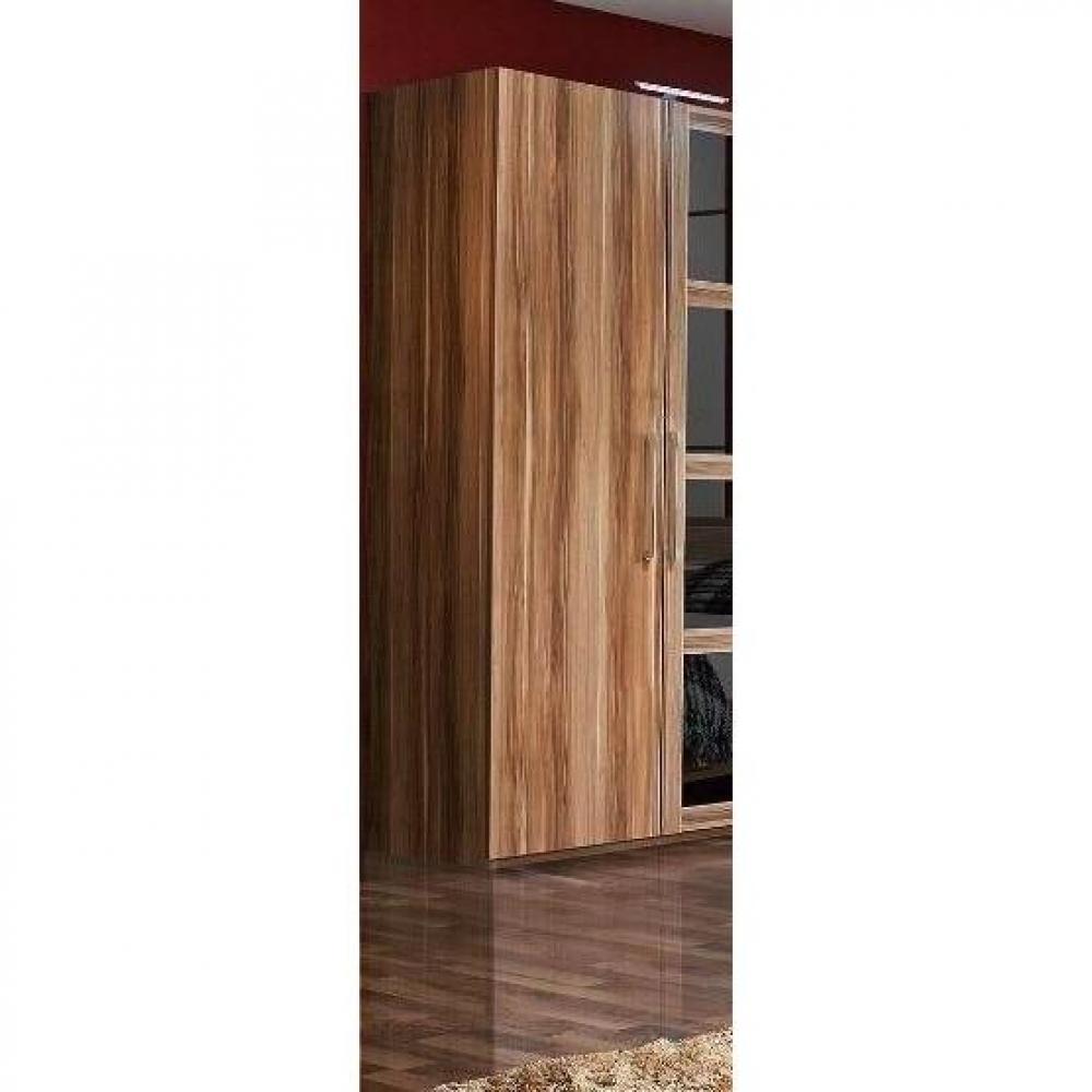 dressings et armoires meubles et rangements dressing penderie paris une porte battant noyer. Black Bedroom Furniture Sets. Home Design Ideas
