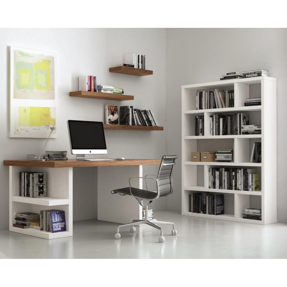 biblioth ques tag res meubles et rangements biblioth que tag re dublin 10 casiers blanc mat. Black Bedroom Furniture Sets. Home Design Ideas