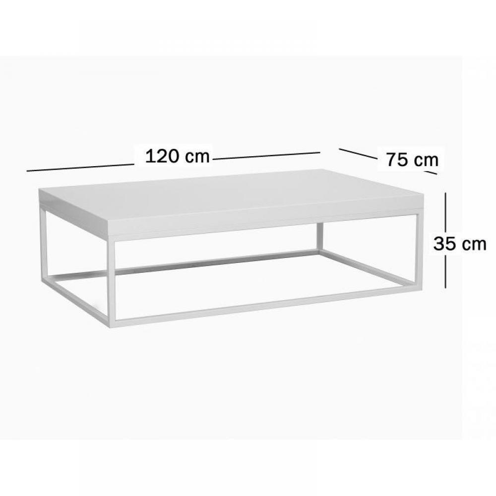 Tables basses tables et chaises duke table basse - Table basse gigogne blanche ...