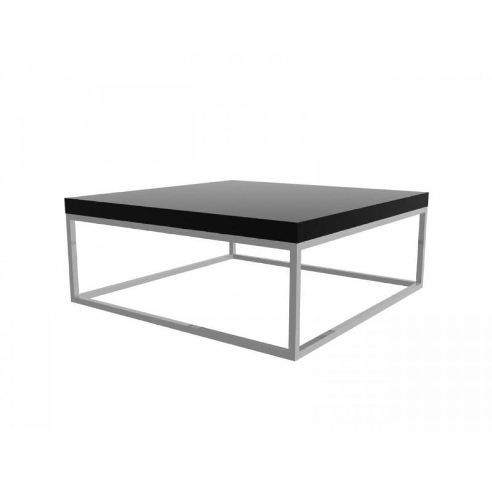 Table basse noire carree maison design - Tables basses noires ...