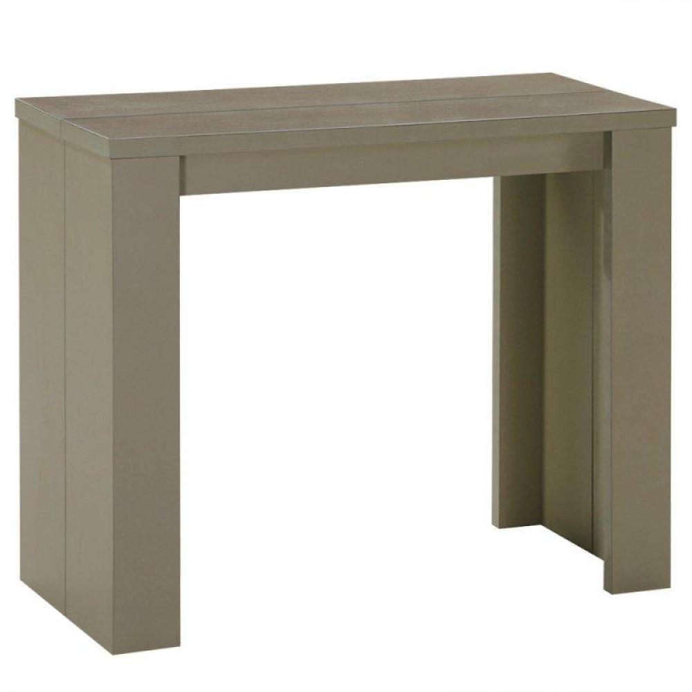 Consoles extensibles canap s syst me rapido console extensible en table rep - Console extensible taupe ...