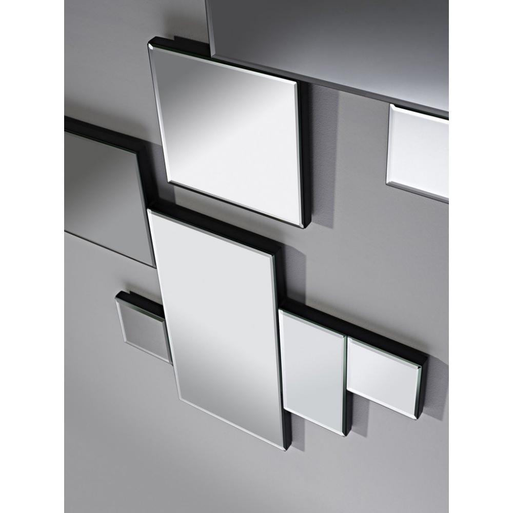 Miroirs meubles et rangements elements miroir mural for Miroir mural design