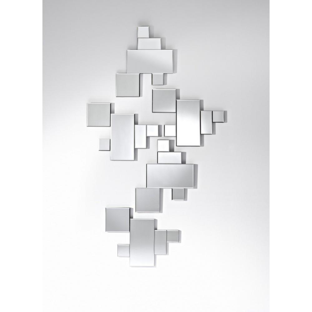 Miroirs meubles et rangements elements miroir mural for Miroir wc design