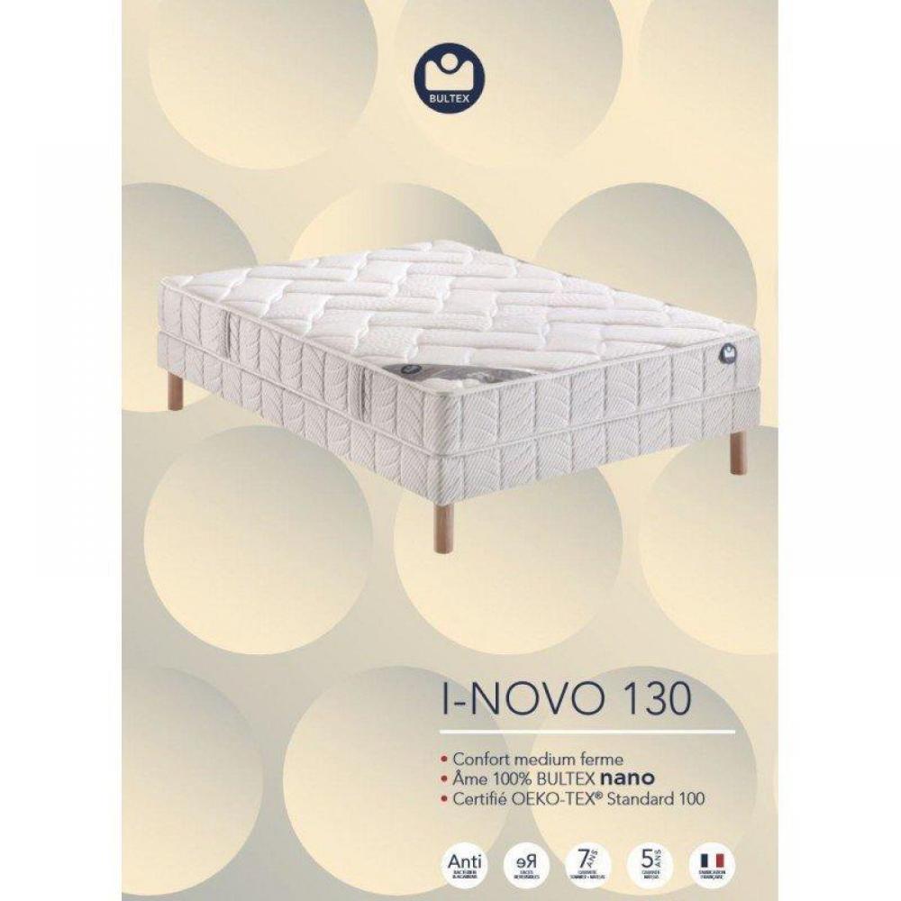 ensemble matelas sommiers chambre literie bultex ensemble sommier fer. Black Bedroom Furniture Sets. Home Design Ideas