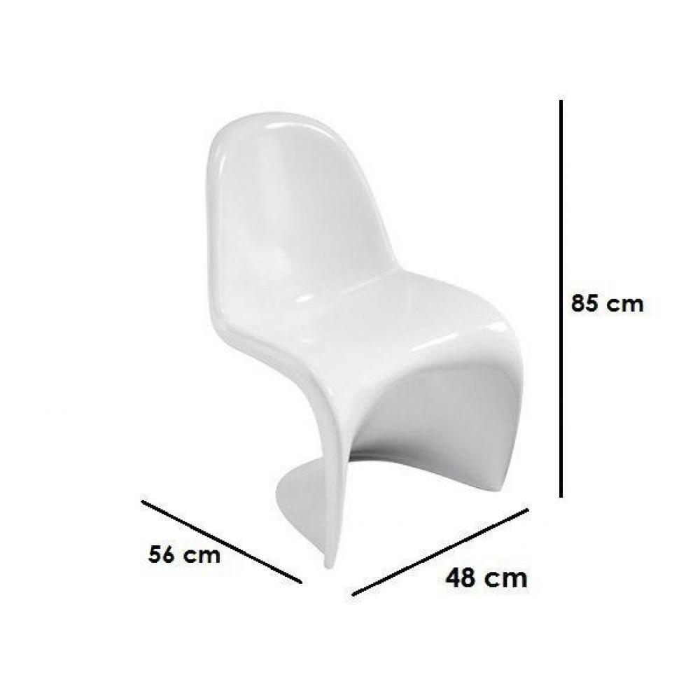 chaises tables et chaises ensemble table repas tulipe 90cm avec 4 chaises slash blanches. Black Bedroom Furniture Sets. Home Design Ideas