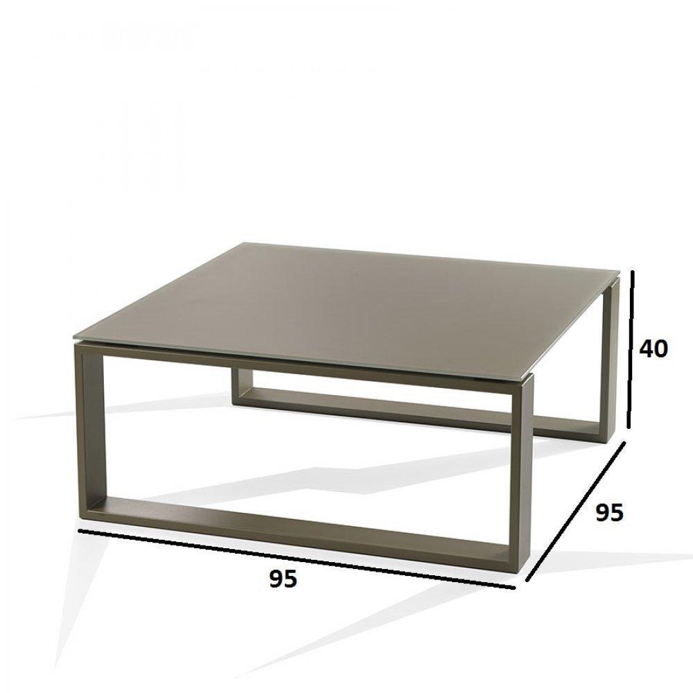 Tables basses tables et chaises ensemble 2 tables basses tacos taupe et cho - Table basse blanche et taupe ...