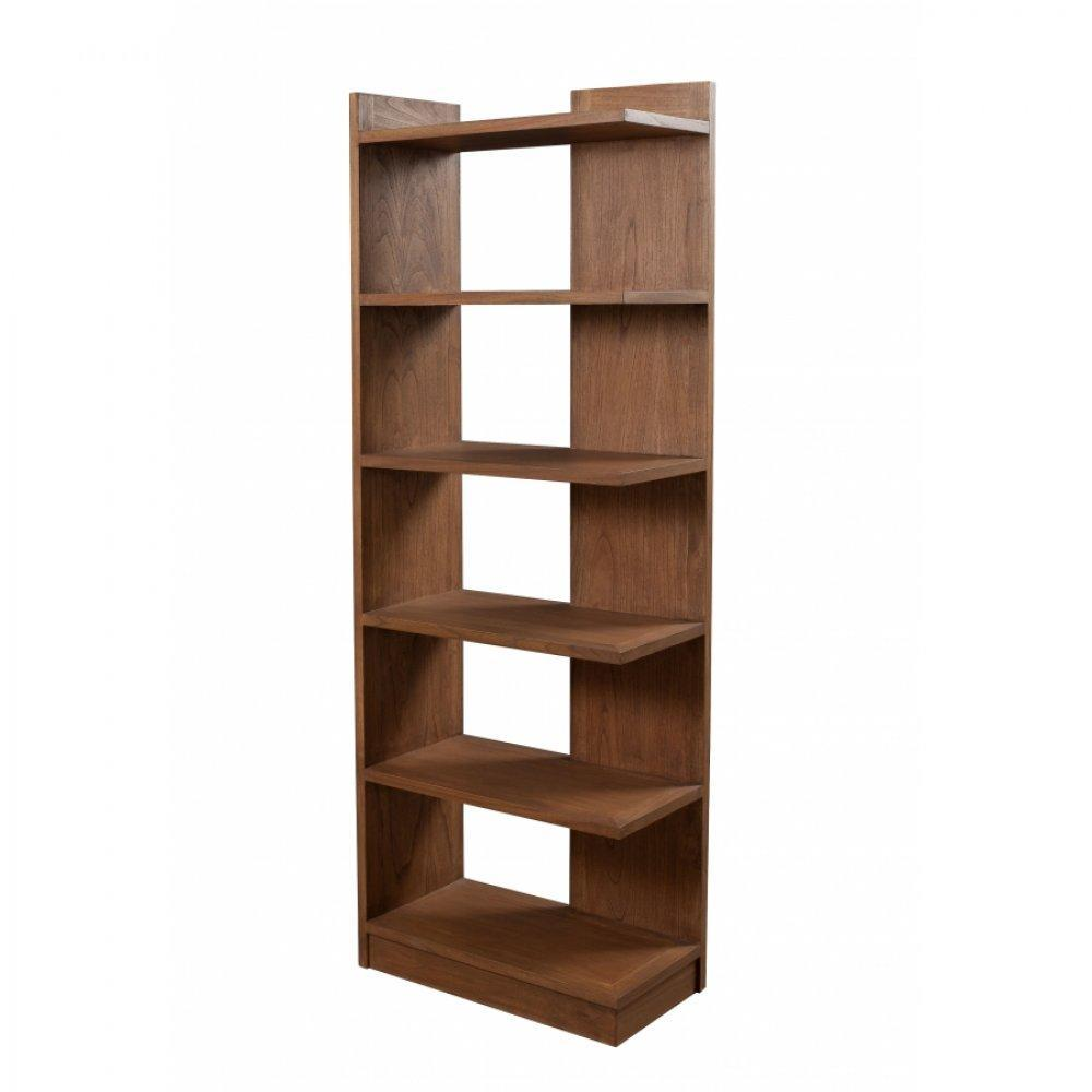 biblioth ques tag res meubles et rangements biblioth que etag re ajour e fancy en bois teinte. Black Bedroom Furniture Sets. Home Design Ideas
