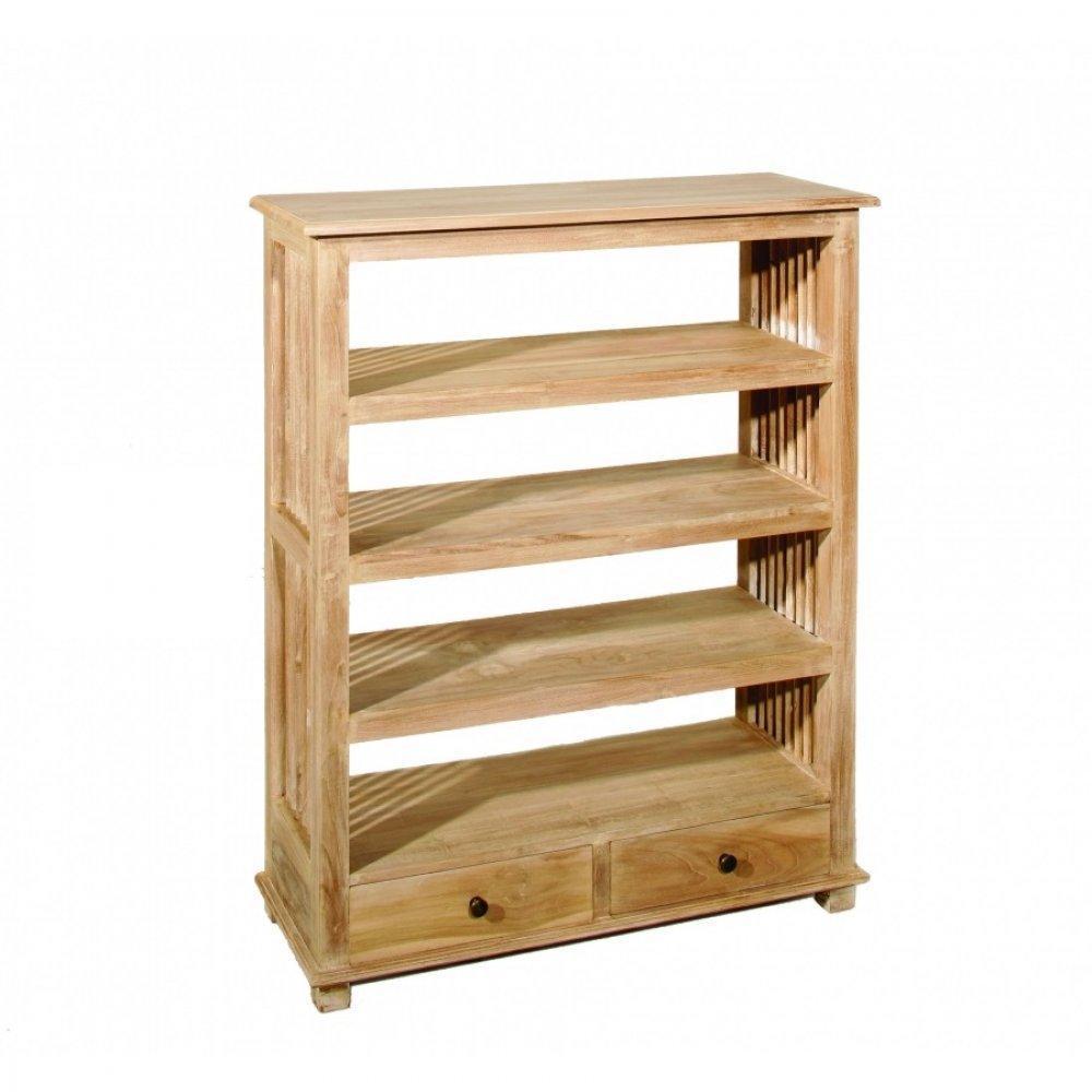 biblioth ques tag res meubles et rangements biblioth que ajour e ines 3 tag res 2 tiroirs en. Black Bedroom Furniture Sets. Home Design Ideas