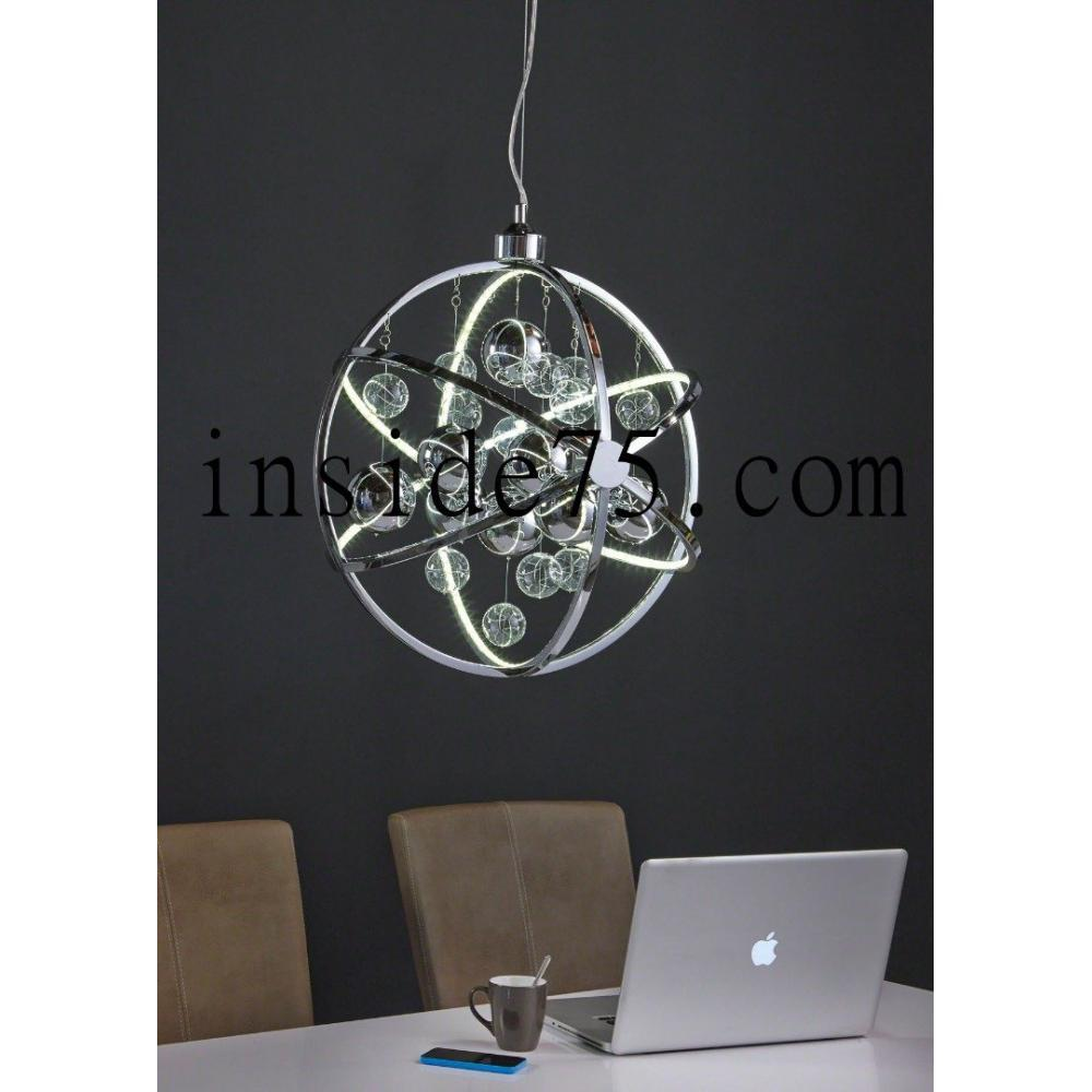 Lampes suspension design etoile multi leds for Lustre suspension design