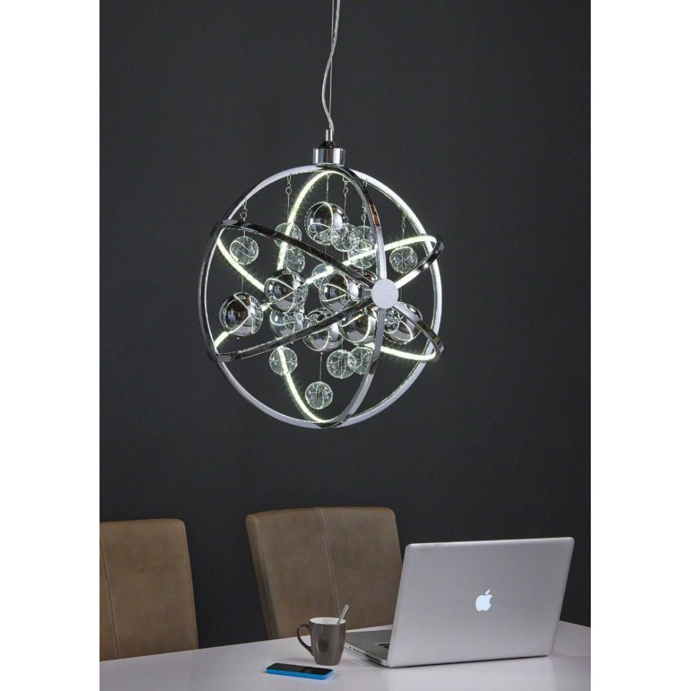etoile lustre design suspendu multi leds 50 place du. Black Bedroom Furniture Sets. Home Design Ideas