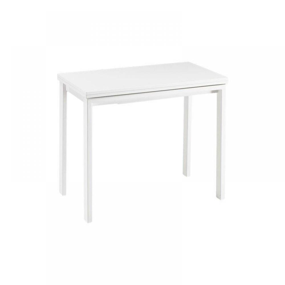 Console Blanc Laque Extensible 28 Images Console Extensible Le Gain De Place Tendance Au