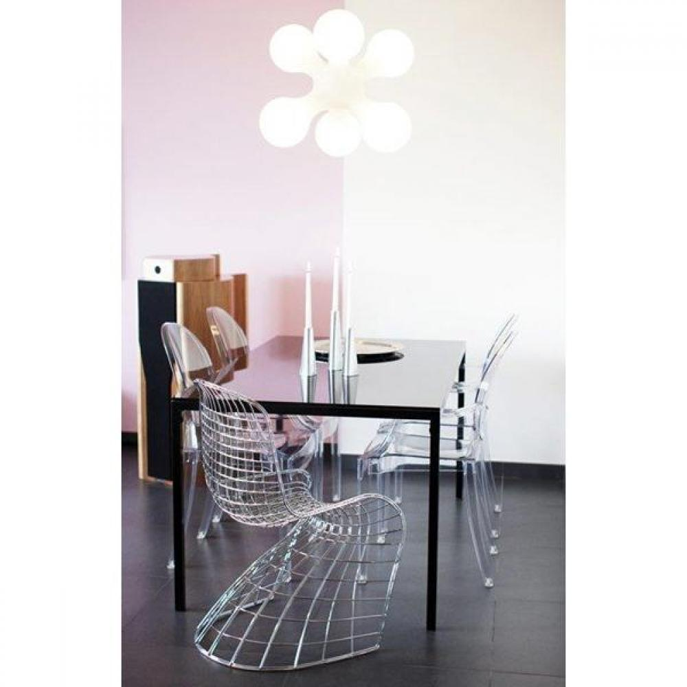 Chaises meubles et rangements chaise design fantome for Chaise grillage design