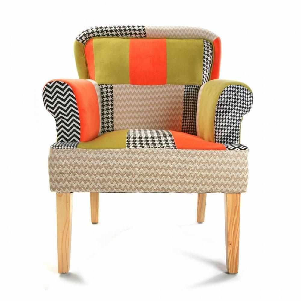 fauteuil pied de poule max min. Black Bedroom Furniture Sets. Home Design Ideas