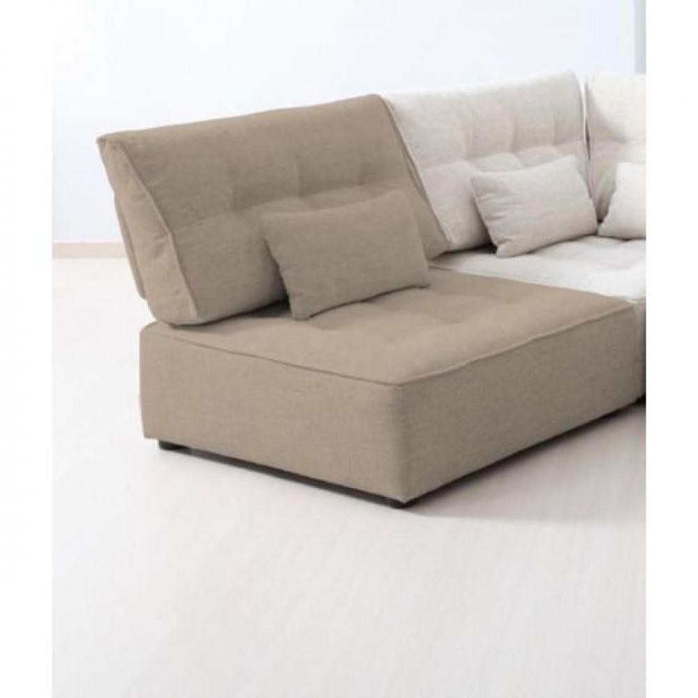 fauteuils canap s fixes et fauteuils fauteuil modulable arianne love taupe clair 1 place. Black Bedroom Furniture Sets. Home Design Ideas