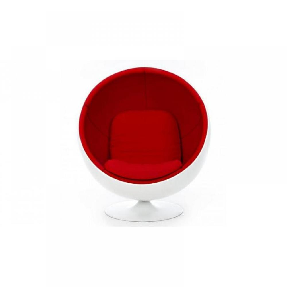 fauteuil boule rouge table de lit a roulettes. Black Bedroom Furniture Sets. Home Design Ideas