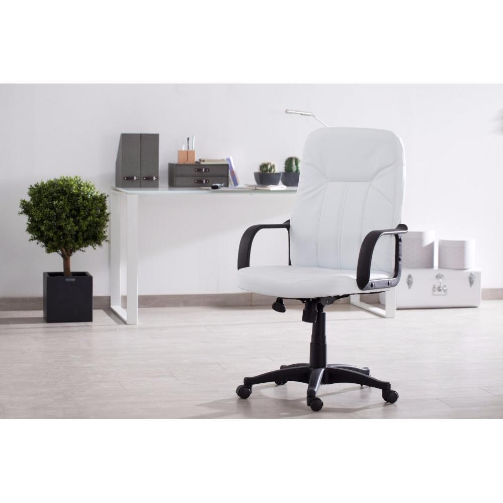 Fauteuils de bureau meubles et rangements fauteuil de - Fauteuil de bureau blanc ...