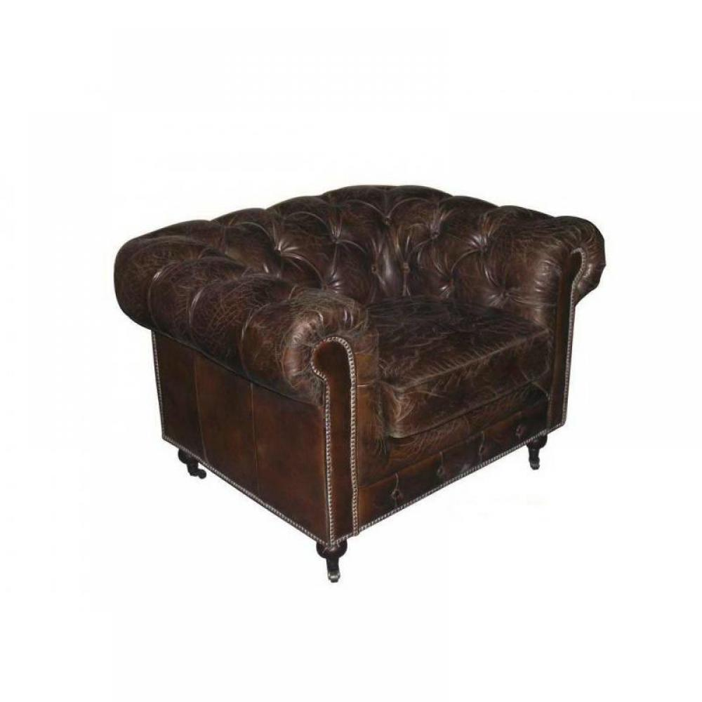 Canap s chesterfield canap s et convertibles fauteuil chesterfield prestige - Chesterfield cuir vieilli ...
