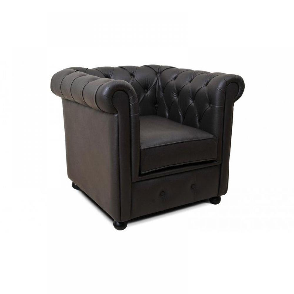 rapido convertibles canap s syst me rapido fauteuil chesterfield royal chocolat inside75. Black Bedroom Furniture Sets. Home Design Ideas