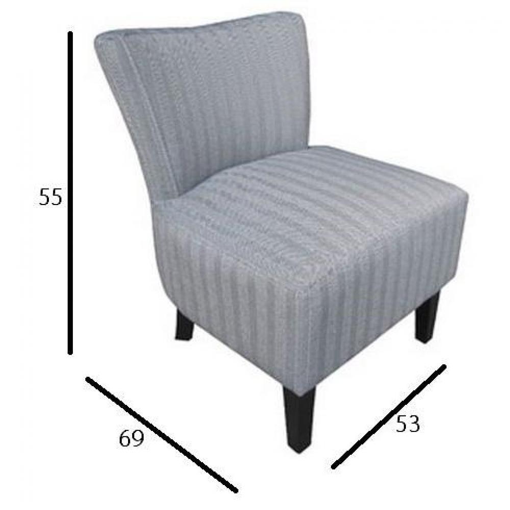 fauteuils et poufs fauteuils et poufs petit fauteuil volupte microfibre chevron gris inside75. Black Bedroom Furniture Sets. Home Design Ideas