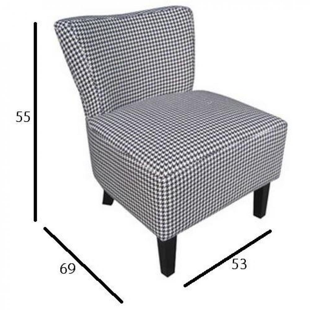 petit fauteuil volupte microfibre pied coq ebay. Black Bedroom Furniture Sets. Home Design Ideas