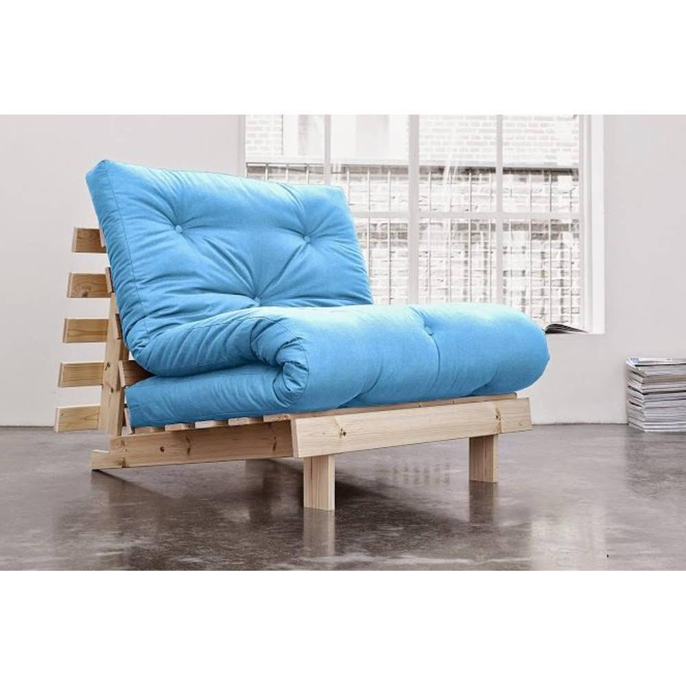 rapido convertibles canap s syst me rapido fauteuil bz style scandinave roots futon bleu azur. Black Bedroom Furniture Sets. Home Design Ideas