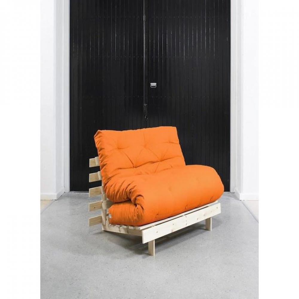 rapido convertibles canap s syst me rapido fauteuil bz style scandinave roots futon orange. Black Bedroom Furniture Sets. Home Design Ideas