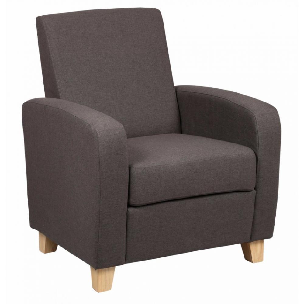 fauteuils design canap s et convertibles petit fauteuil seated tissu marron inside75. Black Bedroom Furniture Sets. Home Design Ideas