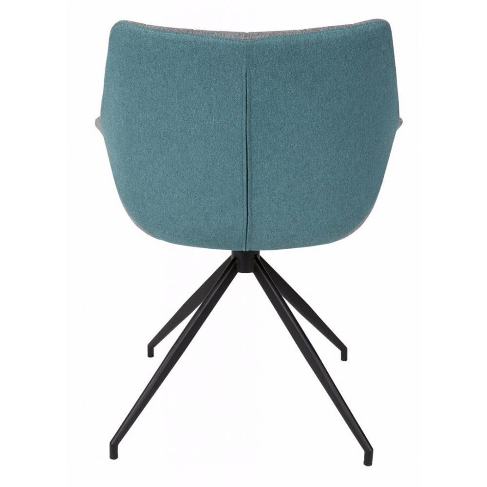 fauteuils design fauteuils et poufs zuiver fauteuil doulton bleu inside75. Black Bedroom Furniture Sets. Home Design Ideas