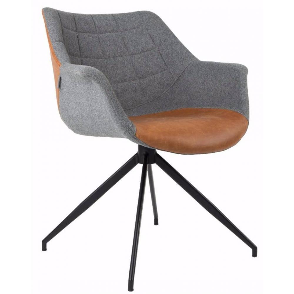 fauteuils design fauteuils et poufs zuiver fauteuil doulton vintage inside75. Black Bedroom Furniture Sets. Home Design Ideas