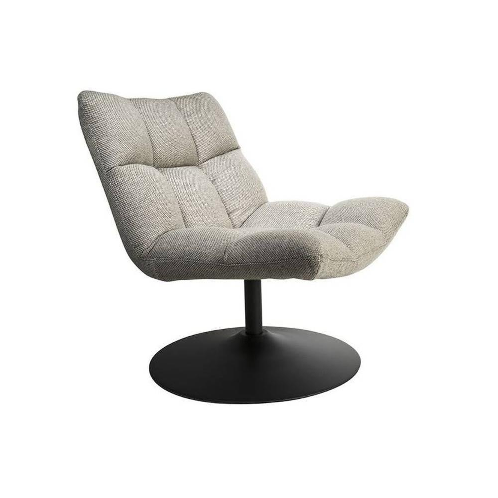 fauteuils design fauteuils et poufs fauteuil pivotant bar lounge de dutchbone gris clair. Black Bedroom Furniture Sets. Home Design Ideas