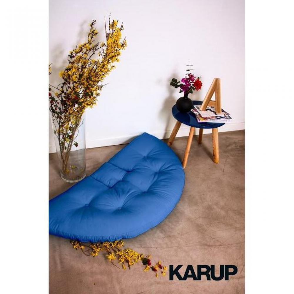 fauteuils convertibles fauteuils et poufs fauteuil lit enfant nest futon bleu royal couchage. Black Bedroom Furniture Sets. Home Design Ideas