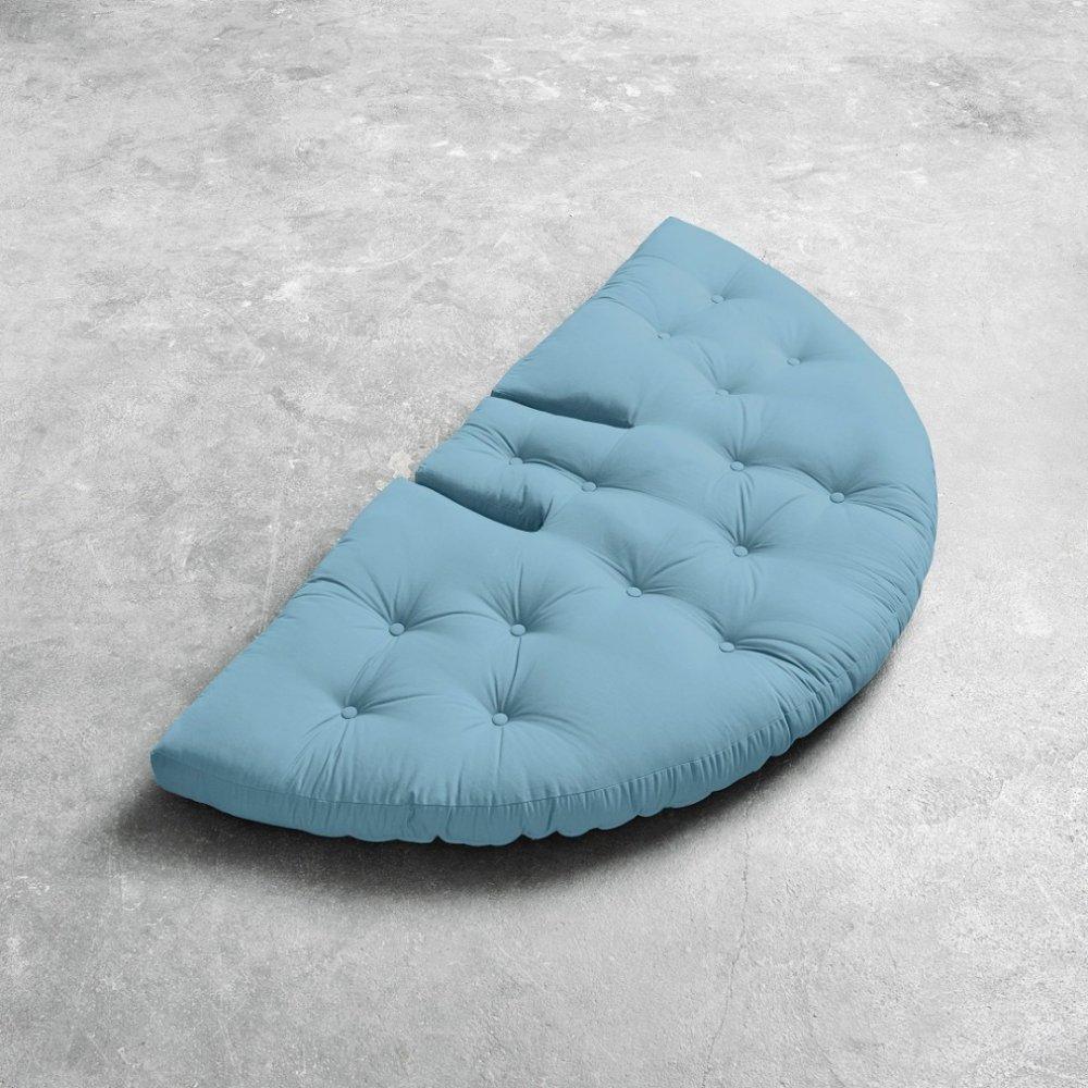 fauteuils convertibles canap s et convertibles fauteuil futon design nido bleu clair couchage. Black Bedroom Furniture Sets. Home Design Ideas