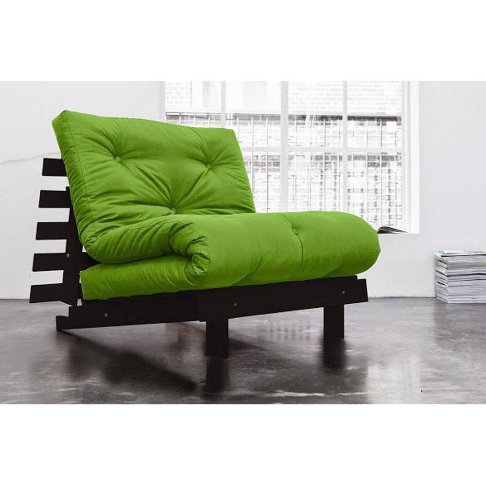 fauteuils convertibles canap s et convertibles fauteuil bz weng roots wengue futon vert lime. Black Bedroom Furniture Sets. Home Design Ideas