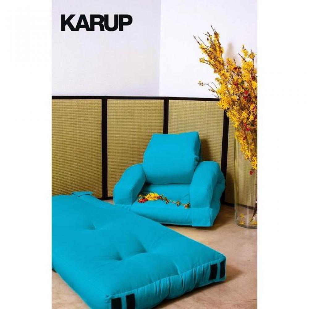 fauteuils futon canap s et convertibles fauteuil enfant lit hippo futon bleu azur couchage 65. Black Bedroom Furniture Sets. Home Design Ideas