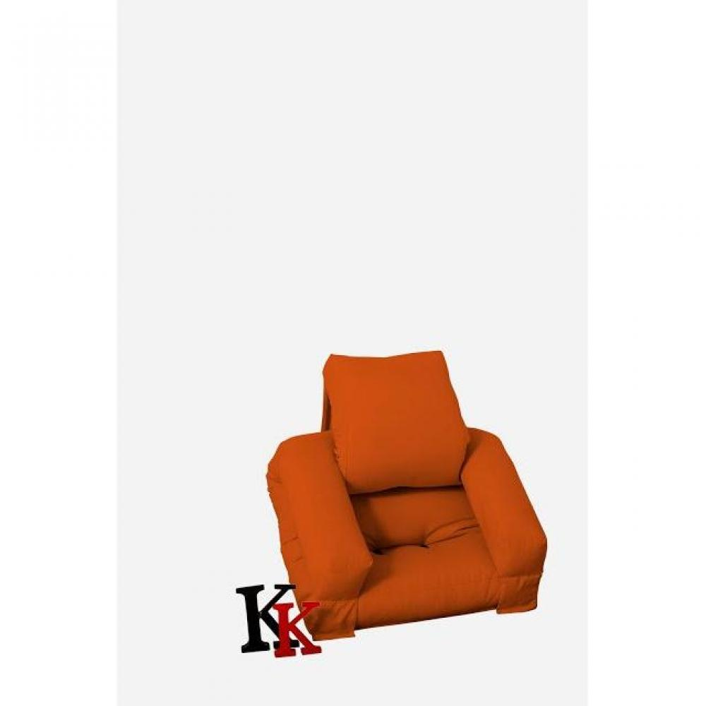 fauteuils futon canap s et convertibles fauteuil enfant lit hippo futon orange couchage 65 140. Black Bedroom Furniture Sets. Home Design Ideas